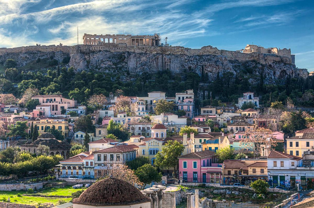 Купить электронные авиабилеты Киев — Афины