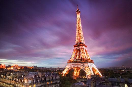 Электронные авиабилеты во Францию