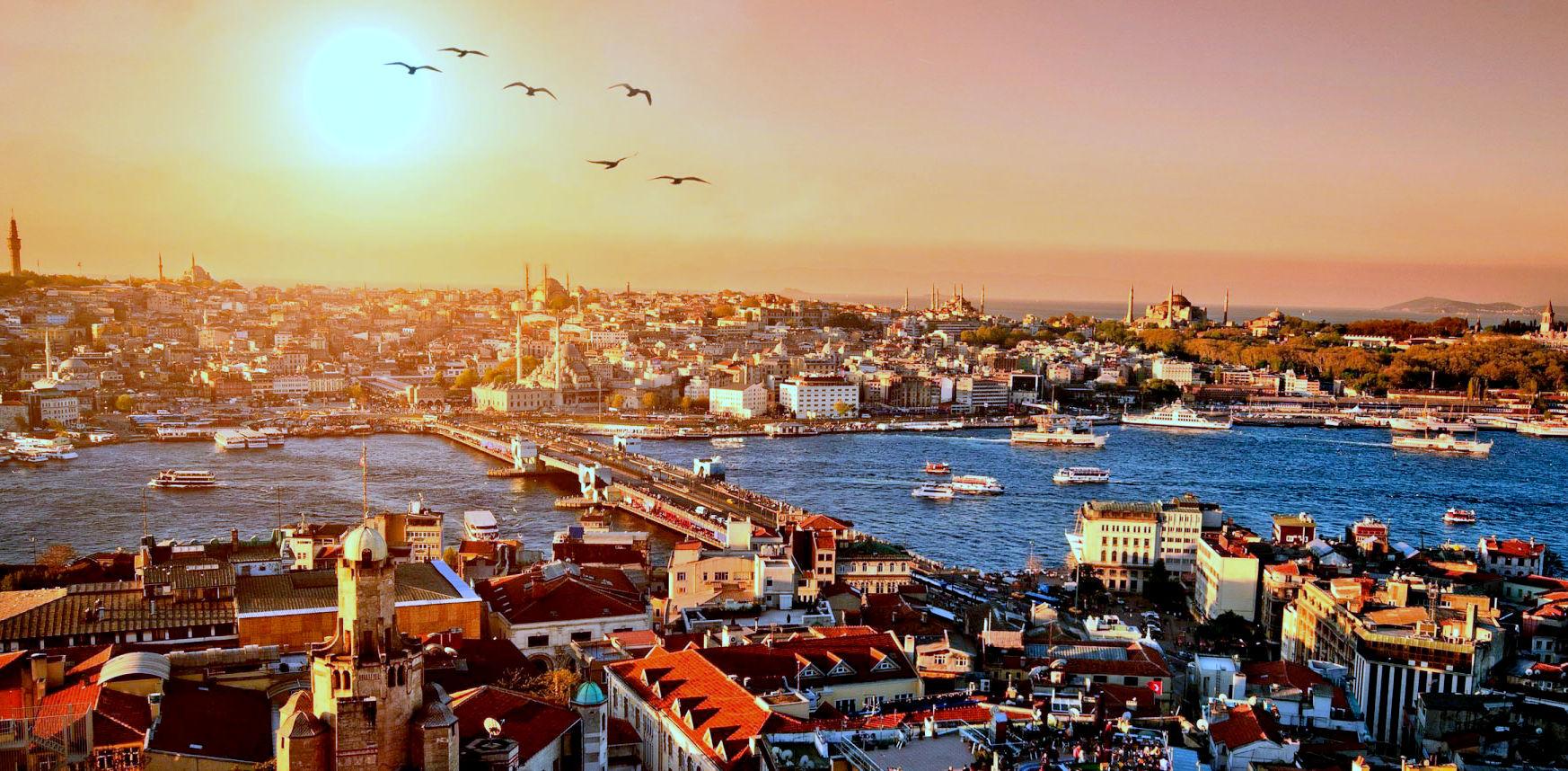 Купить авиабилеты Стамбул - Киев
