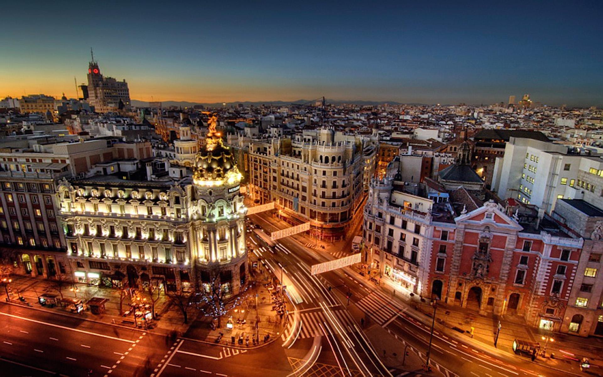 Бронирование билетов онлайн Киев-Мадрид