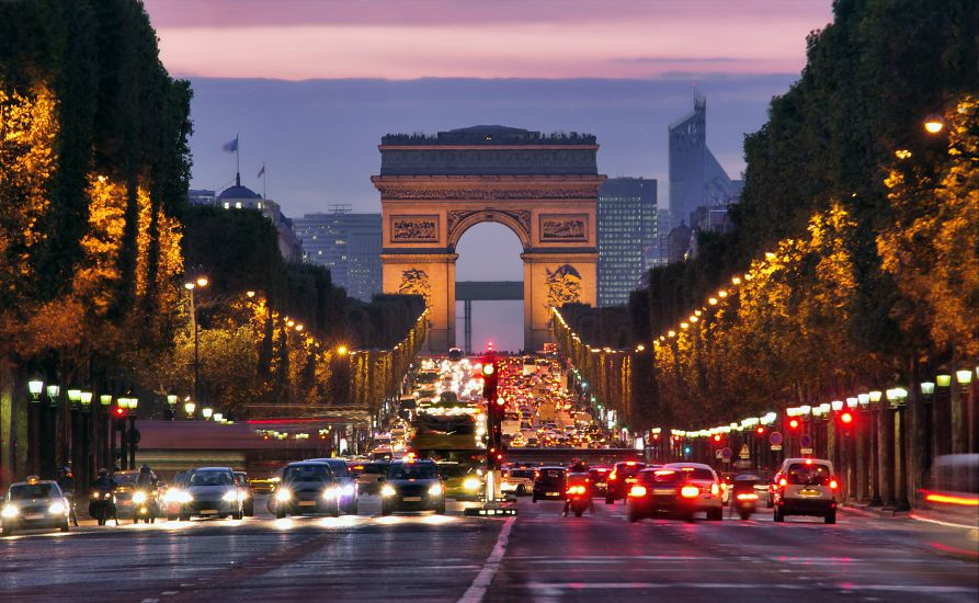 Купить онлайн билет в Париж