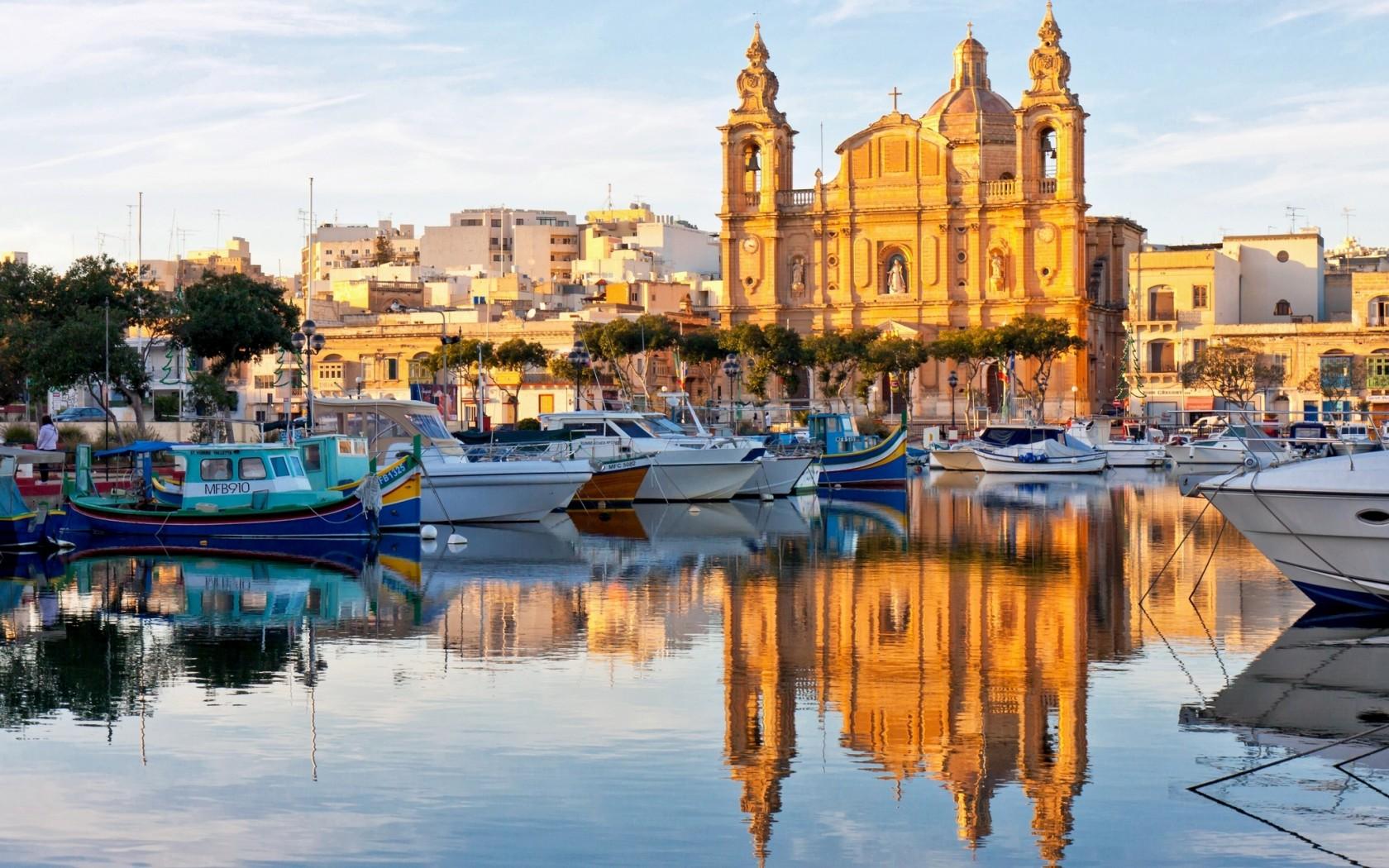Электронные авиабилеты на Мальту