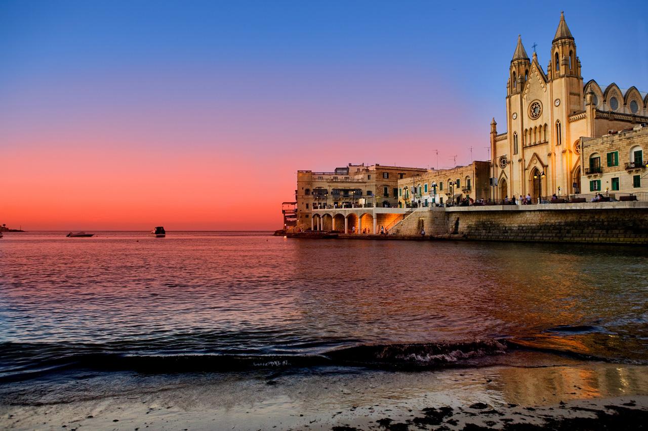 Купить электронные авиабилеты на Мальту