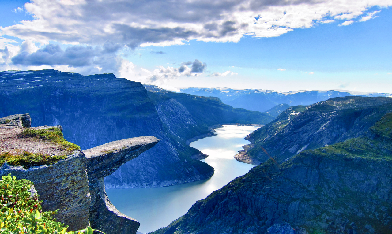 Купить электронные авиабилеты в Норвегию