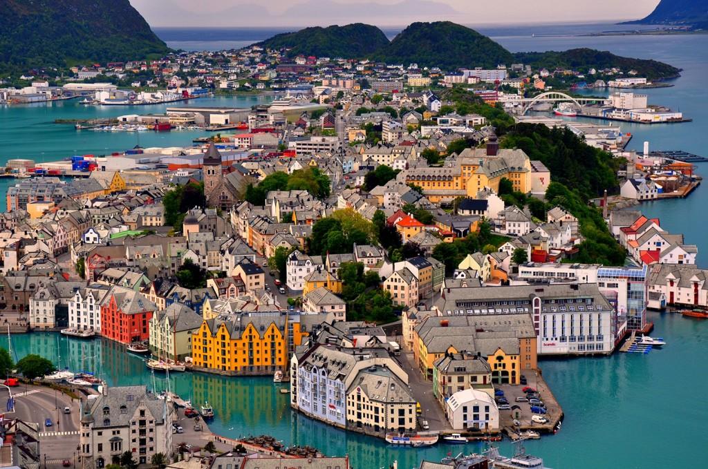Электронные авиабилеты в Норвегию